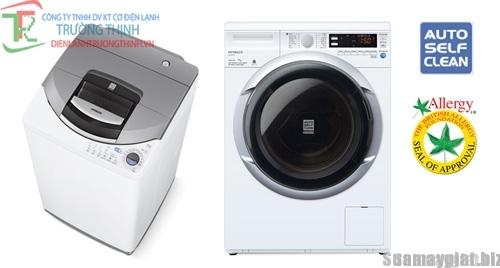 vì sao máy giặt cửa trước không có miếng lọc vải